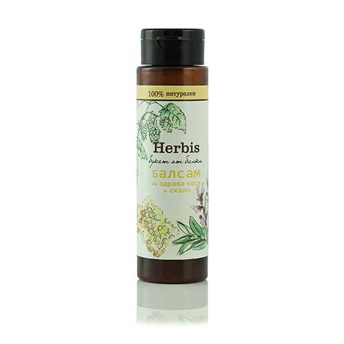 Natural balm for healthy hair and scalp Herbis 200 ml