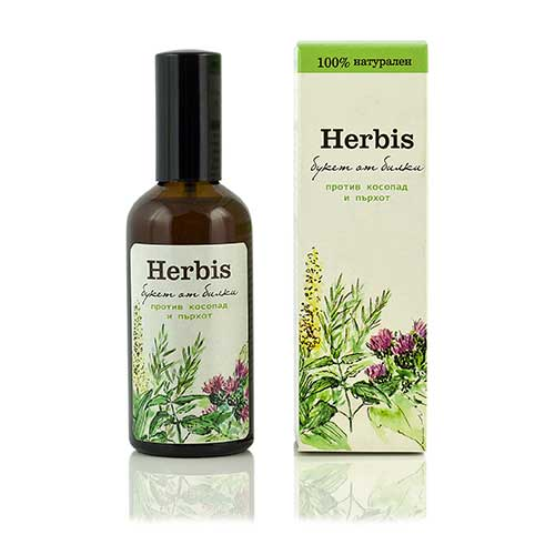 Anti Hair-loss herbal extract Herbis 100 ml