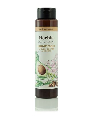 Natural Herbis Natural Hair Shampoo 300 ml